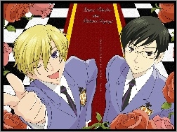 Ouran High School Host Club, osoby